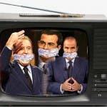 Talk show politici vietati (Santoro, Floris e Vespa)
