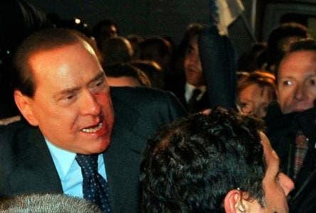 Silvio Berlusconi aggressione