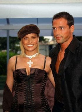 Simona Ventura e Stefano Bettarini (Quelli che il Calcio)