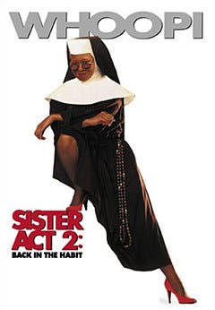 Sister Act 2 (ascolti di domenica 6 settembre)