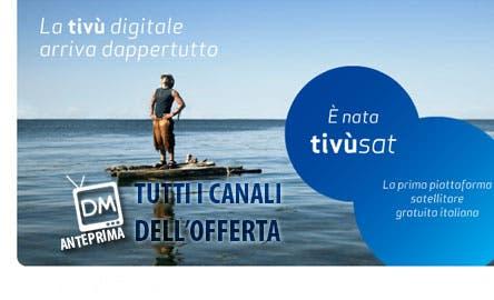 Anteprima DM TivùSat canale per canale