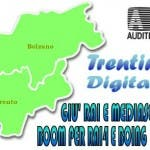 Trentino Digitale (dati auditel)
