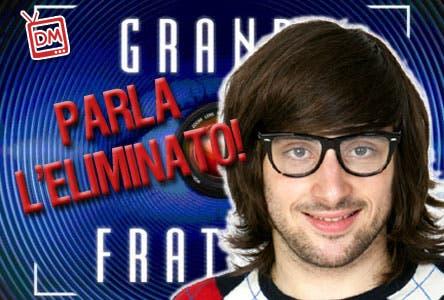 GRANDE FRATELLO 10 TULLIO TOMASINO INTERVISTA
