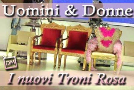 Troniste Uomini e Donne Trono Rosa Monica Laura
