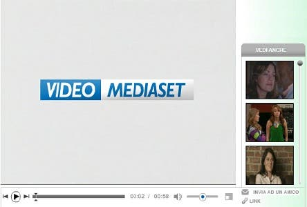 VIDEO MEDIASET PIERSILVIO BERLUSCONI PORTALE WEB