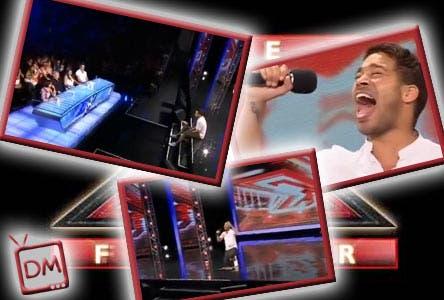 X Factor UK Live Casting