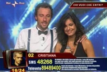 Cristiana (new entry XFactor)