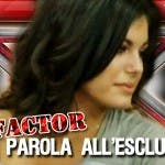 XFactor 3, intervista Cristiana